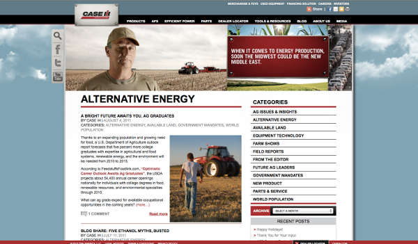 Case IH Be Ready blog